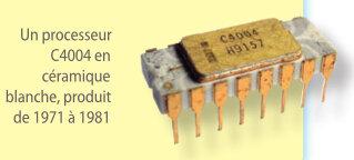 Les premiers processeurs