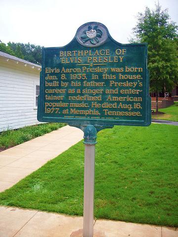 Elvis Aaron Presley was born