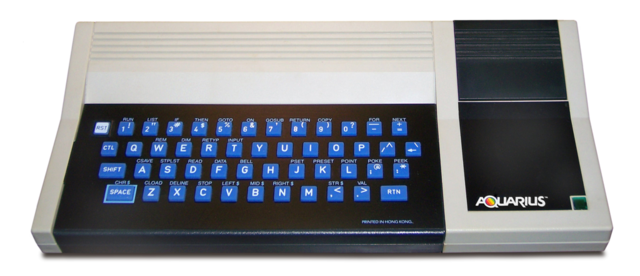 1983 Mattel Aquarius
