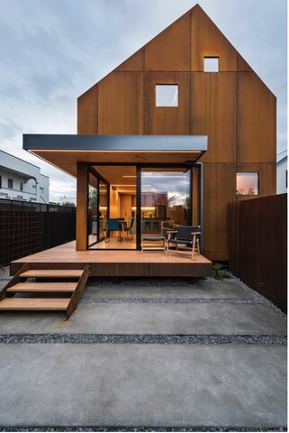 Christchurch Townhouses - The purpose of the project was to design and construct two architectural inner city townhouses in Christchurch that are environmentally friendly and practical while still appealing to look at.