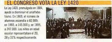 Ley Nacional  1420