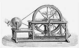 Primer máquina electrostática
