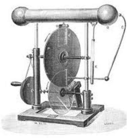 Francis Hauksbee perfecciono el generador electroestático de Otto