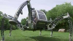 Vehículo de seis patas