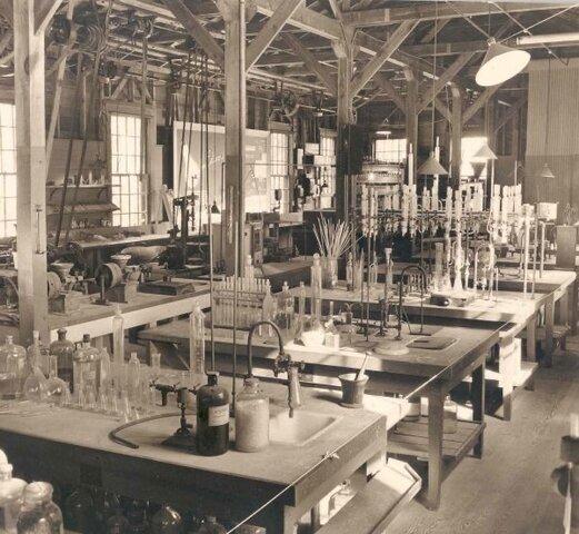 Edison transportó su laboratorio a menlo park
