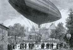 Primer vuelo propulsado por electricidad