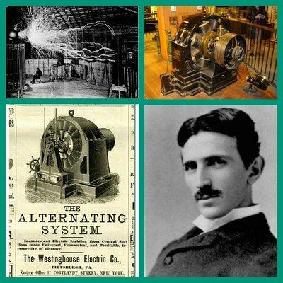 Nikola Tesla formula las leyes de la corriente alterna.