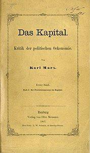 """""""El capital"""" Karl Marx"""