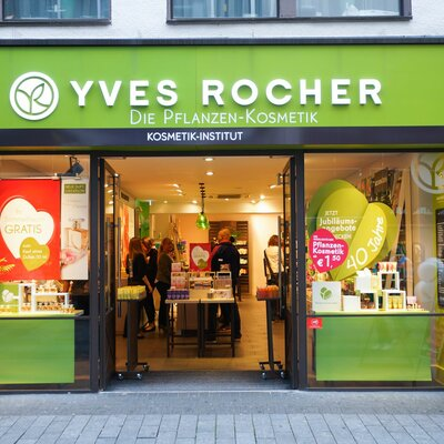 Yves Rocher timeline