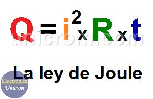 Laley de Joule