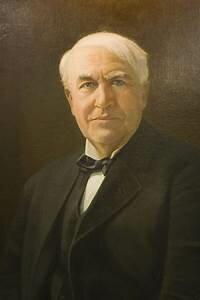 Thomas Alva invento la lampara incandescente