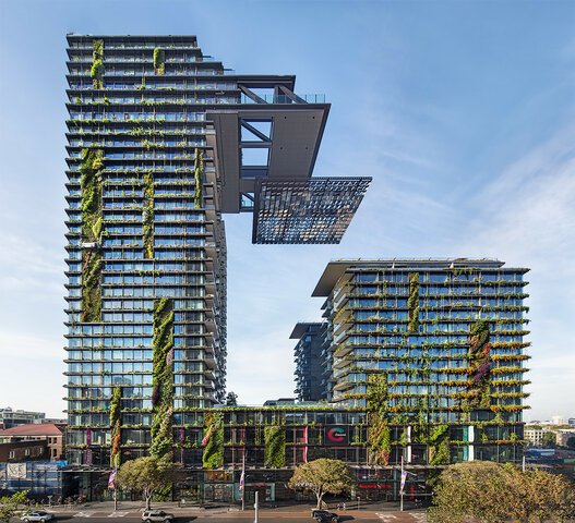 One Central Park, Australia  (The purpose of this project is to provide residents with an environmentally friendly and lively public space)