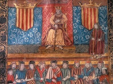 Reunió de les Corts catalanes de Carles I