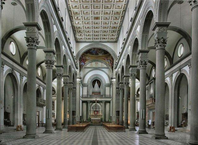 Brunelleschi: Església San Lorenzo