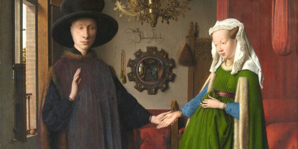 Van eyck: Matrimoni Arnolfini