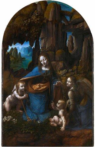 Leonardo da vinci  la mare de déu  de les roques