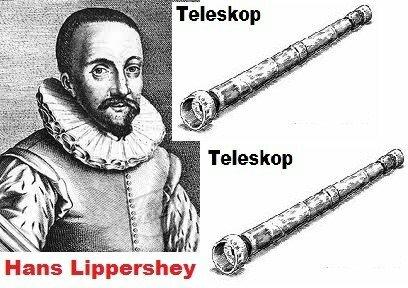 Invención del telescopio