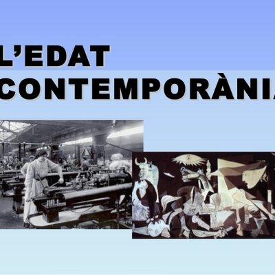 Canvis de l'Edat Contemporània timeline