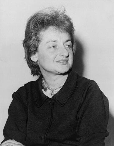 Betty Friedan. (1921-2006).