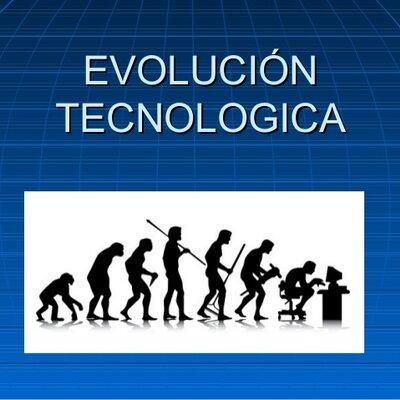 LA EVOLUCIÓN DE LA TECNOLOGIA. timeline
