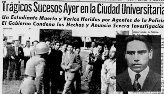 Destituido alcalde (Bogotá) y muere Gonzalo Bravo Pérez (estudiante)