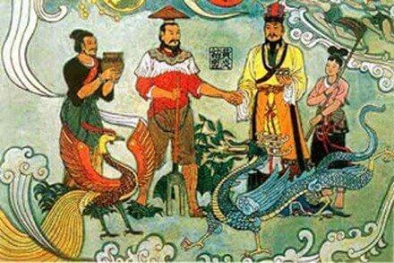 Desarrollos Chinos (2000 a.c)