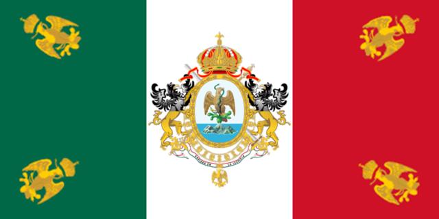 Bandera de Maximiliano