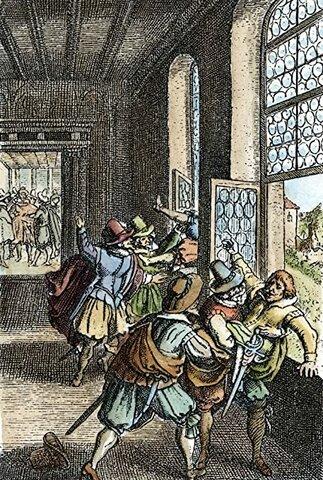 Defenestració de Praga