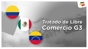 El Tratado del Grupo de los Tres (TLC-G3), integrado por México, Colombia y Venezuela,