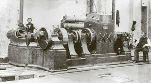 Primera central de generación de electricidad