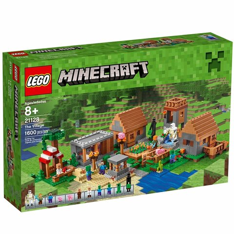 The first Minecraft Lego set is released