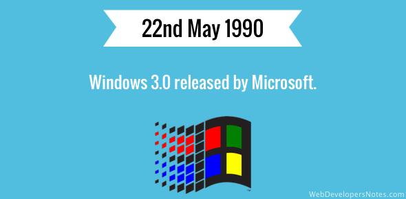 Windows 3.0: Microsoft