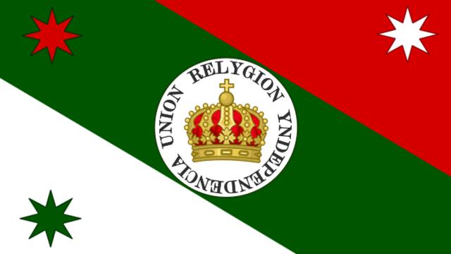 Bandera del Ejército Trigarante