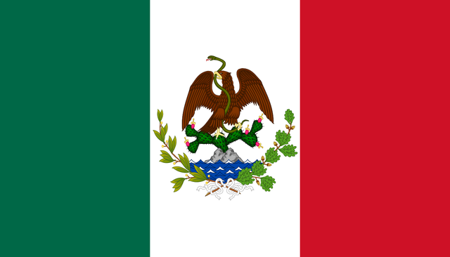 Bandera de la Segunda República Federal