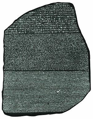 Pedra rosetta