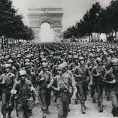 What happened during WWII? timeline