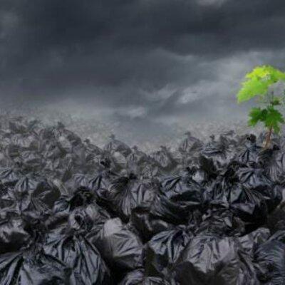 Problema mundial de la basura timeline