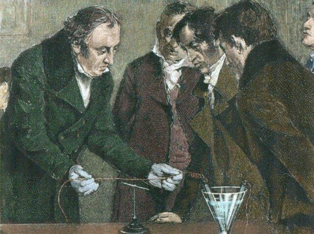 Descubrimiento del electromagnetismo