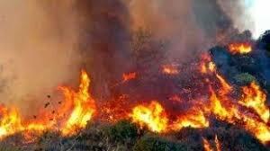un incendio que consumió parte de comunidad