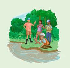 contaminación del rio a causa del desemboque del drenaje que hasta el día de hoy sigue contaminando
