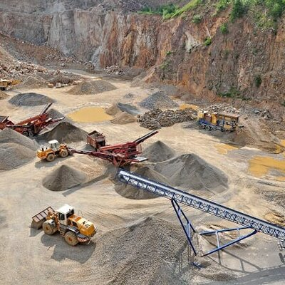Mining Industry Projects timeline