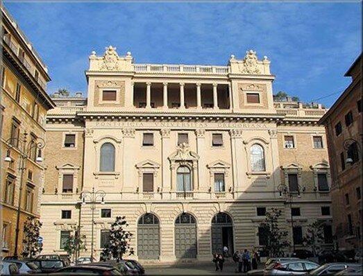 Construcción del Colegio Romano