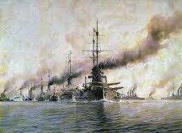 La Guerra Naval.