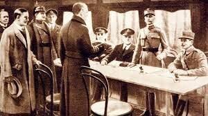 Fin de La Primera Guerra Mundial.