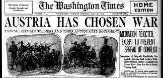Declaración de guerra del Imperio Austrohungaro a Serbia