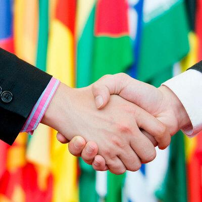 Antecedentes de negocios internacionales. timeline