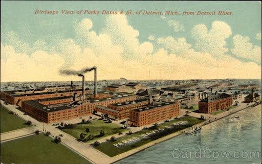 Parke-Davis fundada
