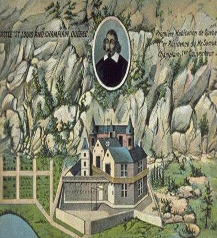 Fondation de Québec par Samuel Champlain