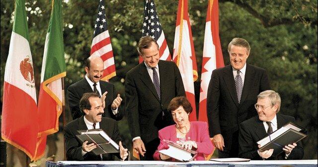 Tratado Libre Comercio entre EUA, Canadá y México