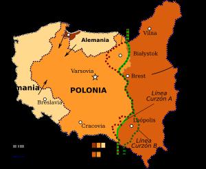 Unión Soviética invade Polonia desde el este